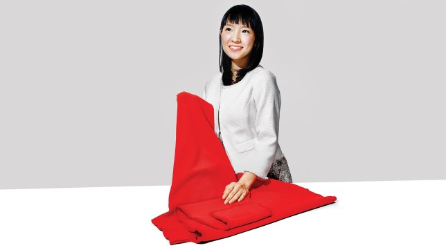 Marie Kondo, author. The Life-Changing Magic Of Tidying Up: The Japanese Art Of Decluttering and Organising by Marie Kondo, which has sold more than two million copies worldwide since its release last year. 09-kondo-lede.jpg