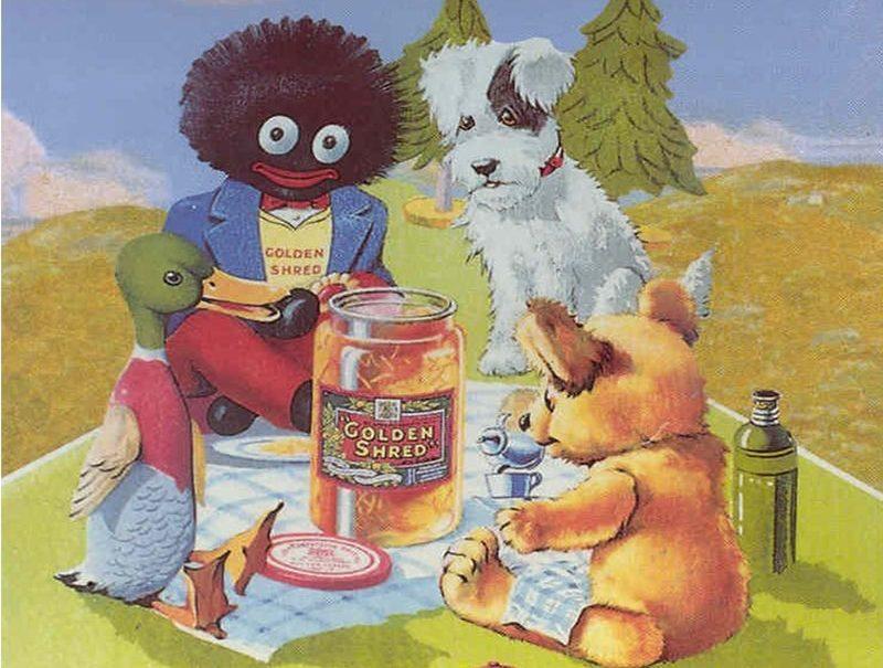 Golden Shred marmalade poster