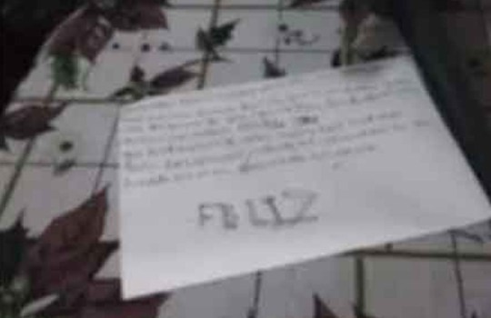 """Pic shows: The girl left a letter saying that the best Christmas present for her parents was her suicide. A 10-year-old girl found dead allegedly committed suicide after leaving a heartbreaking note saying her death would make her mum 'the happiest woman in the world.' Authorities in Mexico are investigating the death of the girl, named only as Evelyn Nicole N., which came on Three Kings Day - or el Dia de Reyes - the Christmas-style festival celebrated by Spanish speakers on 6th January. A letter found by girl's body suggested she had killed herself because she was the reason her father had left home, saying: """"Dear Three Kings, I only want to ask you my mum will be the happiest woman in the world after I will not be here any more as I am only a pain and a ruin in her life since I was born, as I was the reason my dad left our house."""" It went on: """"I want to ask my mum to be calm, not to work a lot, the best present I can ask is her happiness. I hope some day you remember me and in the sky, finally, you hug me. """"I think the best present for the Three Kings is if I kill myself. As you always said to me I wish you had never been born. I love you so much, mum, I know the Three Kings do not exist but I give you this great present."""" In countries including Spain and Mexico, the festival of the Three Kings is when families give each other presents. Authorities in the central Mexican state of Aguascalientes said the cause of death has been confirmed as strangulation by hanging. Emergency services received a call claiming a girl had hanged herself at 10.18pm on January 6th. Neighbours said the girl did not appear to be sad or have problems. The investigation is ongoing and local reports claim the police are looking to charge the mother, whose location remains unknown."""