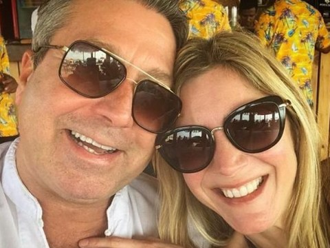 Lisa Faulkner feels 'blessed' to be marrying John Torode following surprise Christmas Day engagement