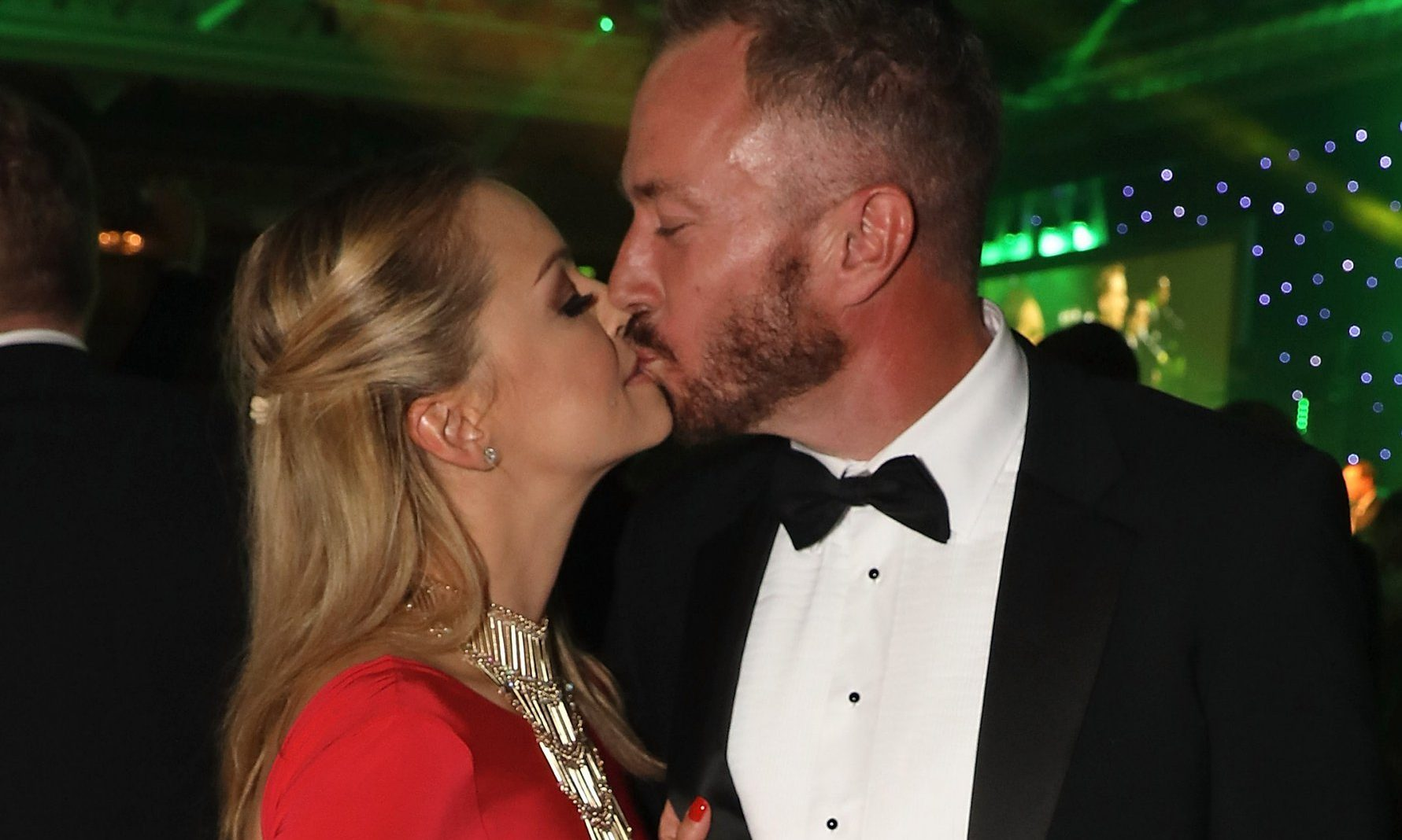 LONDON, ENGLAND - OCTOBER 25: Ola Jordan and James Jordan attend 'An Evening With The Stars' charity gala in aid of Save The Children at The Grosvenor House Hotel on October 25, 2016 in London, England. (Photo by David M. Benett/Dave Benett/Getty Images)