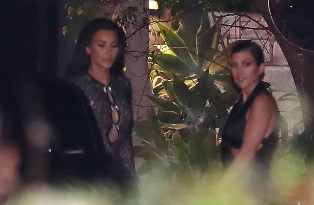 Kim Kardashian, Kourtney Kardashian leave John Legend 40th Birthday in Los Angeles, CA Pictured: Ref: SPL5054954 130119 NON-EXCLUSIVE Picture by: Pap Nation / SplashNews.com Splash News and Pictures Los Angeles: 310-821-2666 New York: 212-619-2666 London: 0207 644 7656 Milan: 02 4399 8577 photodesk@splashnews.com World Rights,