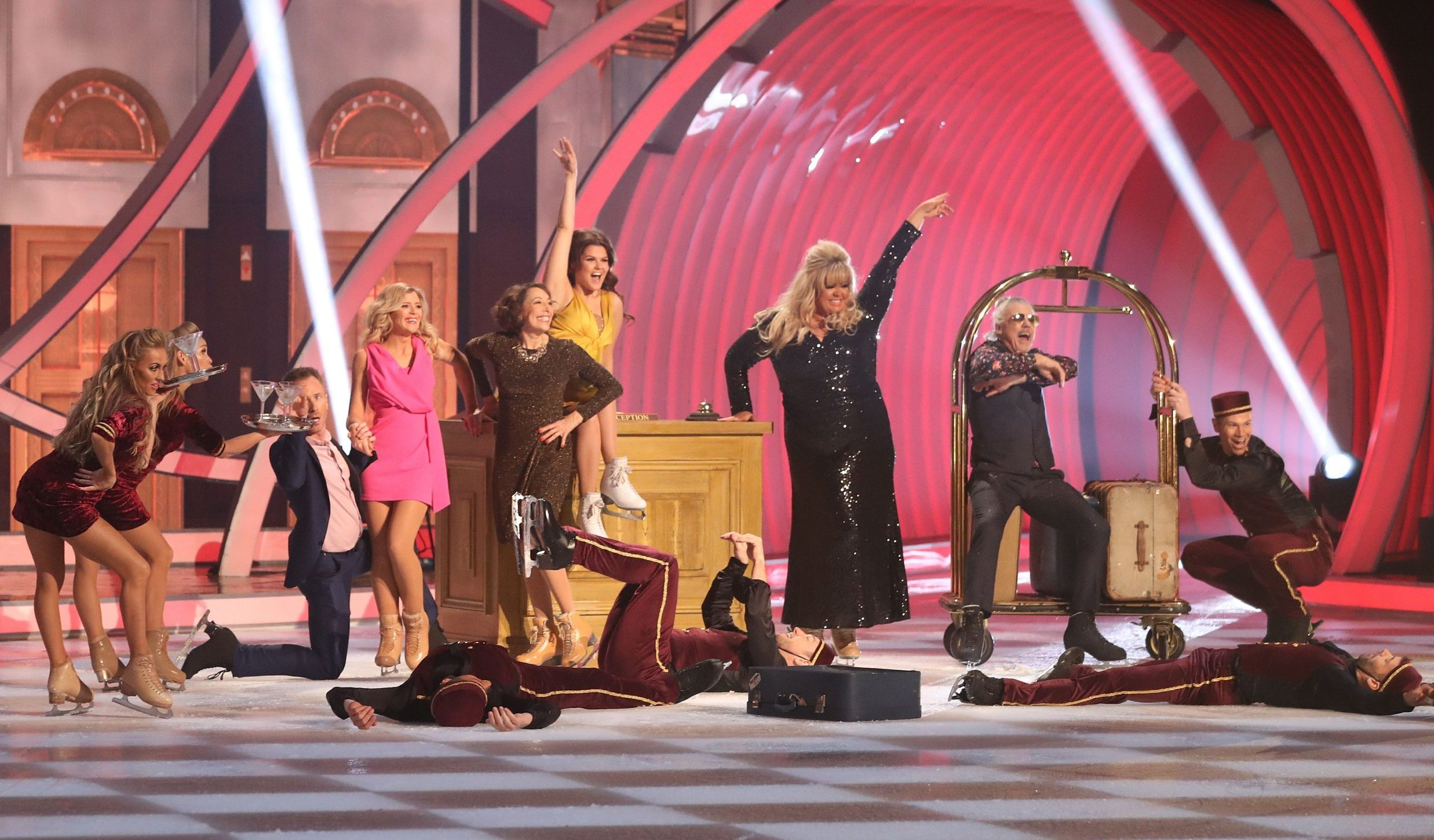Gemma Collins leaves her Dancing On Ice co-stars waiting at rehearsals as she declares: 'I'm the GC, remember?'