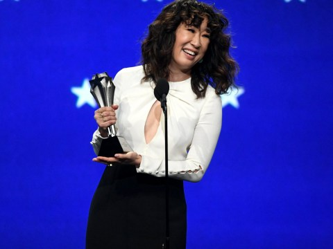 Killing Eve's Sandra Oh is 'obsessed' with Jodie Comer as she praises her Villanelle during Critics Choice Awards win