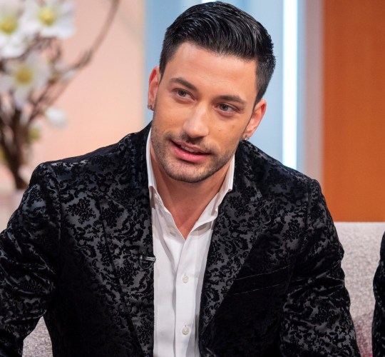 Editorial use only Mandatory Credit: Photo by Ken McKay/ITV/REX (10056099z) Giovanni Pernice 'Lorraine' TV show, London, UK - 14 Jan 2019