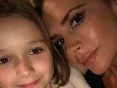 Victoria Beckham shows Harper getting 'chic bob' hair cut after treating 7-year-old to facial