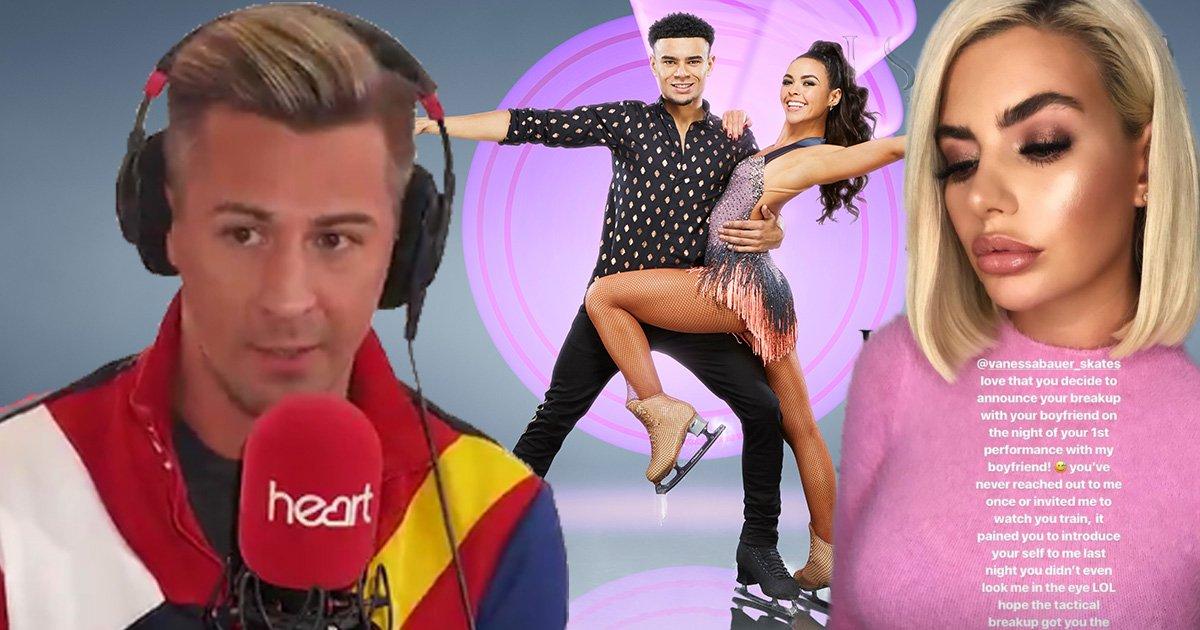 Dancing On Ice's Matt Evers urges 'sour' Megan Barton Hanson to support boyfriend Wes Nelson