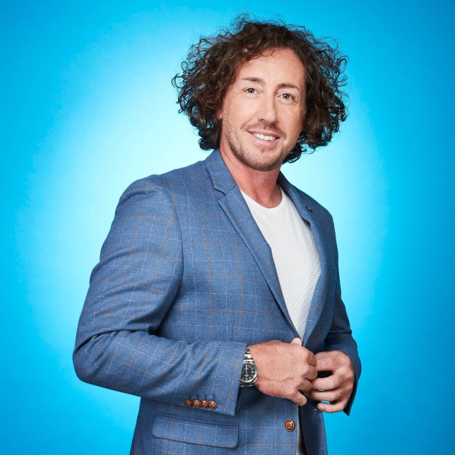 Editorial Use Only. No Merchandising. Mandatory Credit: Photo by ITV/REX/Shutterstock (9907962r) Ryan Sidebottom 'Dancing On Ice' TV Show, Series 11, UK - Oct 2018