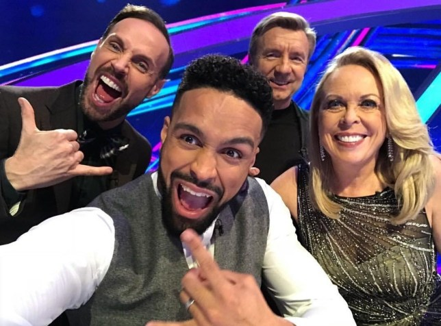 BGUK_1456683 - Various, UNITED KINGDOM - Celebrities seen in this celebrity social media photo posted via Instagram!! Pictured: Ashley Banjo, Jason Gardiner, Jayne Torvill and Christopher Dean BACKGRID UK 13 JANUARY 2019 *BACKGRID DOES NOT CLAIM ANY COPYRIGHT OR LICENSE IN THE ATTACHED MATERIAL. ANY DOWNLOADING FEES CHARGED BY BACKGRID ARE FOR BACKGRID'S SERVICES ONLY, AND DO NOT, NOR ARE THEY INTENDED TO, CONVEY TO THE USER ANY COPYRIGHT OR LICENSE IN THE MATERIAL. BY PUBLISHING THIS MATERIAL , THE USER EXPRESSLY AGREES TO INDEMNIFY AND TO HOLD BACKGRID HARMLESS FROM ANY CLAIMS, DEMANDS, OR CAUSES OF ACTION ARISING OUT OF OR CONNECTED IN ANY WAY WITH USER'S PUBLICATION OF THE MATERIAL* UK: +44 208 344 2007 / uksales@backgrid.com USA: +1 310 798 9111 / usasales@backgrid.com *UK Clients - Pictures Containing Children Please Pixelate Face Prior To Publication*