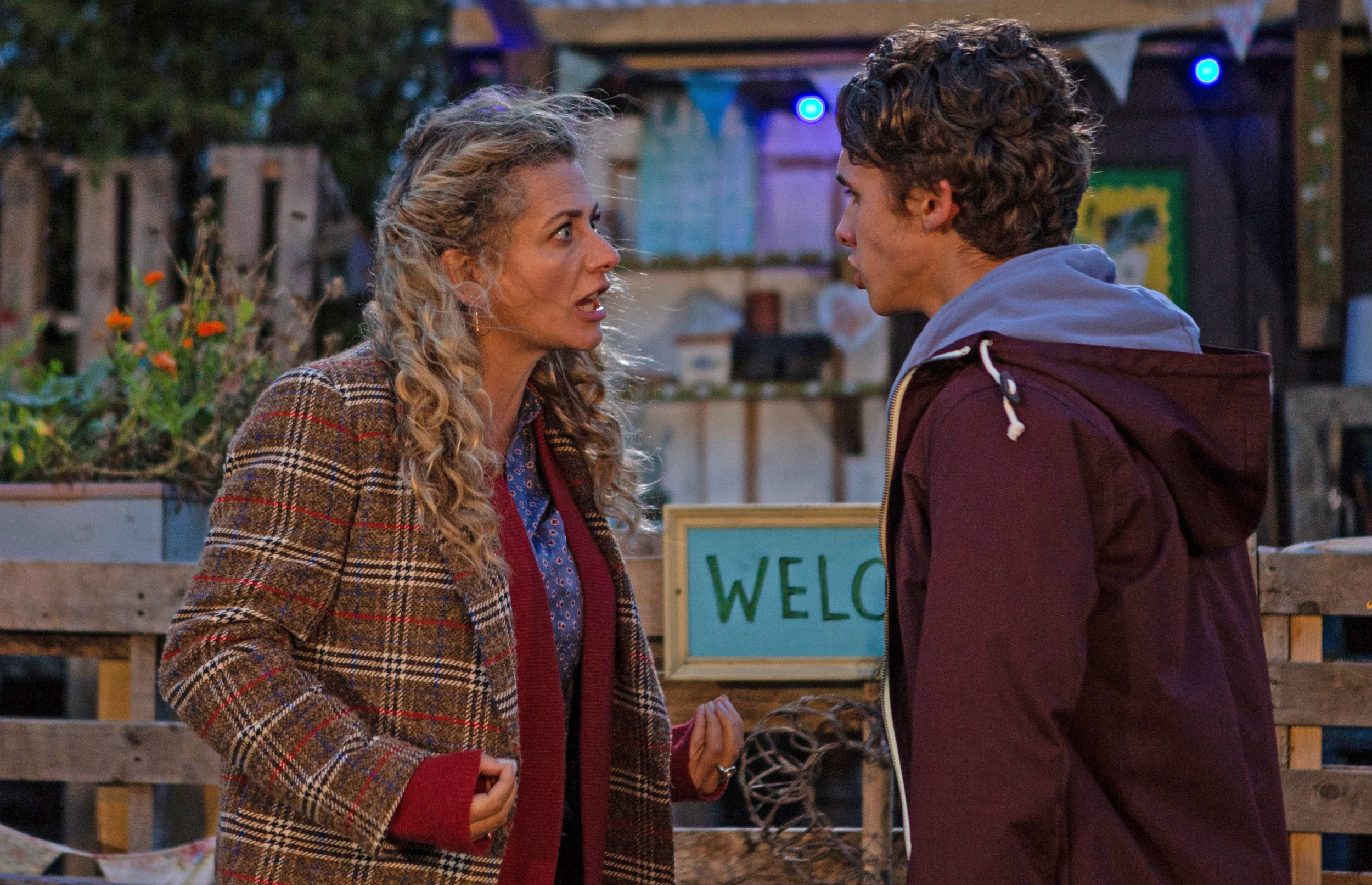 FROM ITV STRICT EMBARGO Weekly TV listings magazines (Not online) - Week 51 release date - Thursday 6 December 2018 All other Media including online - No Use Before Tuesday 11th December 2018 Emmerdale - Ep 9642 Wednesday 19th December 2018 A concerned Ellis tells David about Jacob Gallagher [JOE-WARREN PLANT] seeing an older girl and Maya is [LOUISA CLEIN] anxious over what Jacob has done and soon angrily confronts Jacob about confiding in Ellis. As she coldly tells him to leave her alone and keep quiet, Jacob??s left heartbroken and gutted. Picture contact - David.crook@itv.com Photographer - Amy Brammall This photograph is (C) ITV Plc and can only be reproduced for editorial purposes directly in connection with the programme or event mentioned above, or ITV plc. Once made available by ITV plc Picture Desk, this photograph can be reproduced once only up until the transmission [TX] date and no reproduction fee will be charged. Any subsequent usage may incur a fee. This photograph must not be manipulated [excluding basic cropping] in a manner which alters the visual appearance of the person photographed deemed detrimental or inappropriate by ITV plc Picture Desk. This photograph must not be syndicated to any other company, publication or website, or permanently archived, without the express written permission of ITV Picture Desk. Full Terms and conditions are available on www.itv.com/presscentre/itvpictures/terms