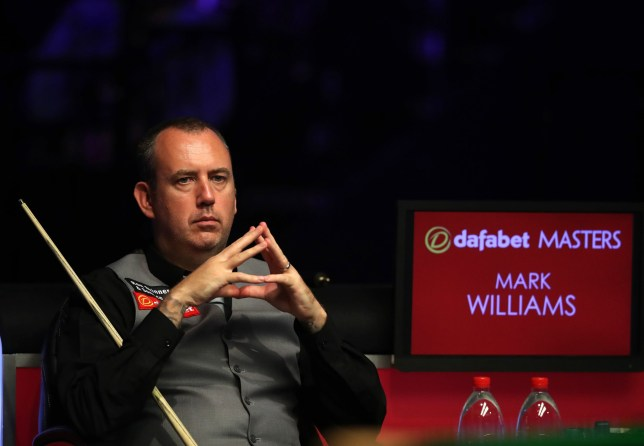 Mark Williams during day three of the 2019 Dafabet Masters at Alexandra Palace, London. PRESS ASSOCIATION Photo. Picture date: Tuesday January 15, 2019. See PA story SNOOKER London. Photo credit should read: Adam Davy/PA Wire