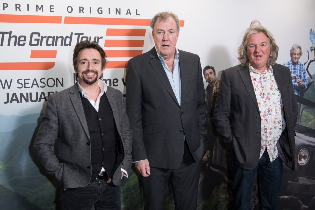 The Grand Tour. Richard Hammond, Jeremy Clarkson and James May