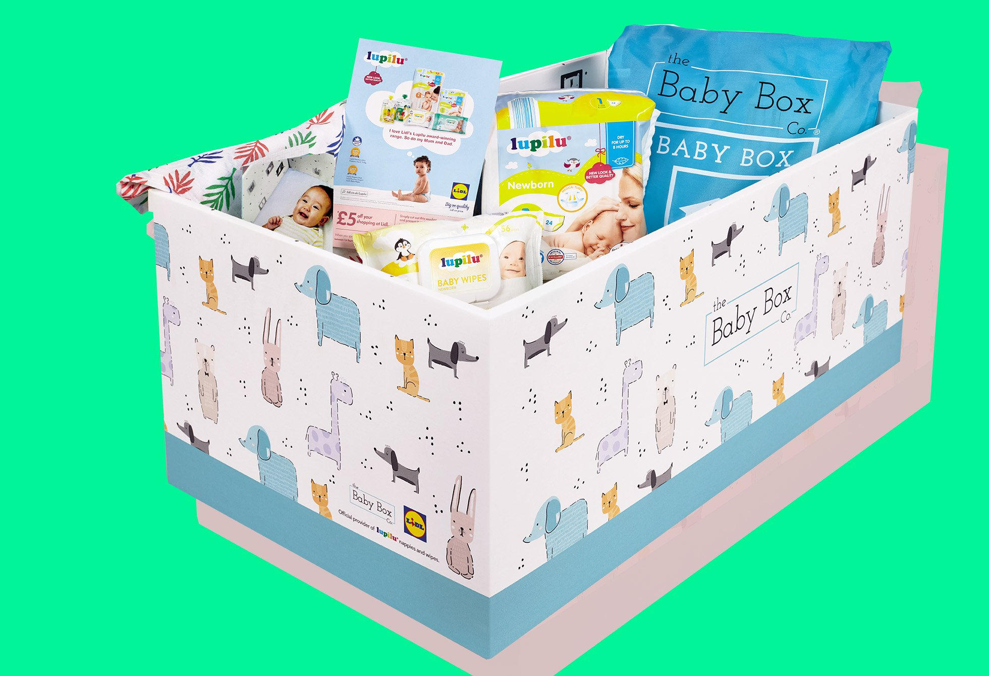 Lidl are giving away free baby boxes for new parents