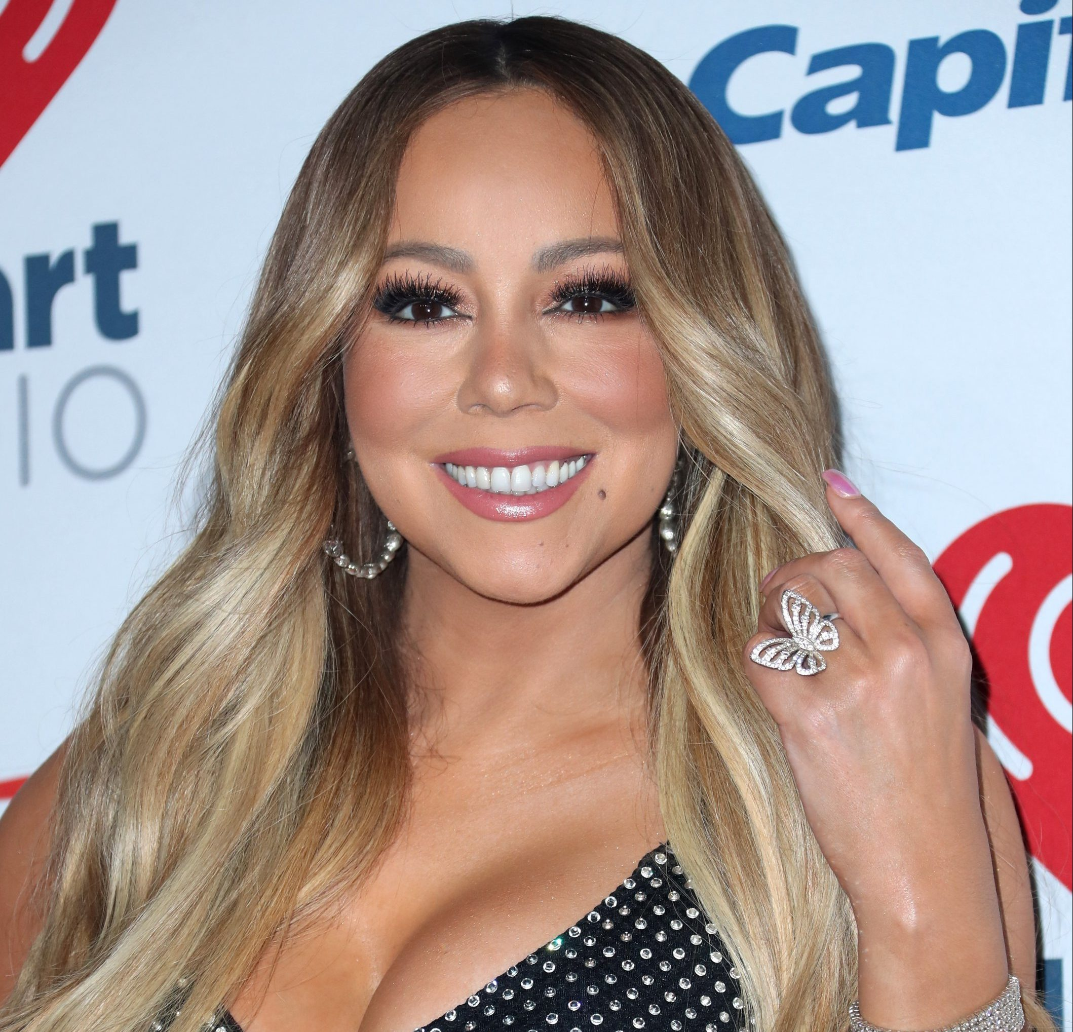 Mandatory Credit: Photo by AFF-USA/REX/Shutterstock (9889190el) Mariah Carey iHeartRadio Music Festival, Arrivals, Las Vegas, USA - 21 Sep 2018