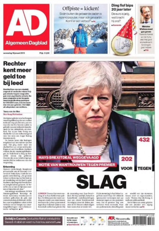 No, Theresa May the wheatfield runner isn't a slagCredit: Algemeen Dagblad
