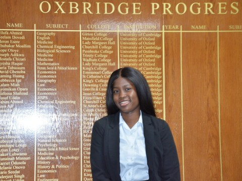 I got an offer to Oxford in spite of my background, not because of it