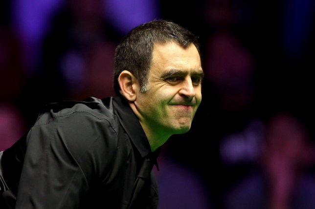 LONDON, ENGLAND - JANUARY 17: Ronnie O'Sullivan of England reacts during his quarter-final match against Ryan Day of Wales on day five of the 2019 Dafabet Masters at Alexandra Palace on January 17, 2019 in London, England. (Photo by Alex Pantling/Getty Images)