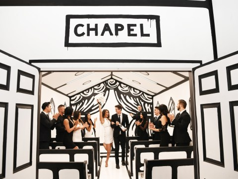 Fancy getting married in this super Instagrammable chapel?