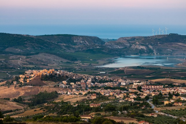 A view of the village of Sambuca di Sicilia, Italy. Sambuca di Sicilia is a municipality in the Province of Agrigento in the Italian region Sicily,; Shutterstock ID 1031137342; Purchase Order: -
