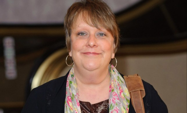 Kathy Burke arrives at the Sky Women in Film and TV Awards 2011, at the Hilton hotel in Park Lane, London.