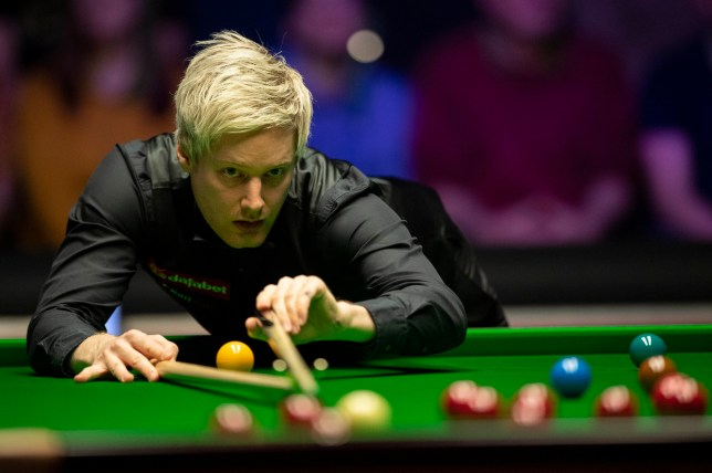 Neil Robertson during day six of the 2019 Dafabet Masters at Alexandra Palace, London. PRESS ASSOCIATION Photo. Picture date: Friday January 18, 2019. See PA story SNOOKER London. Photo credit should read: Victoria Jones/PA Wire