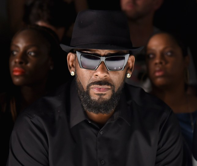 FILE - JANUARY 18: R. Kelly has been dropped by his music label Sony Music amid ongoing sexual misconduct allegations. NEW YORK, NY - JULY 14: Singer R. Kelly attends the Ovadia & Sons front row during New York Fashion Week: Men's S/S 2016 at Skylight Clarkson Sq on July 14, 2015 in New York City. (Photo by Michael Loccisano/Getty Images)