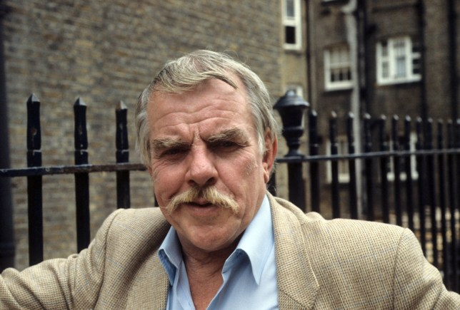 Editorial use only Mandatory Credit: Photo by ITV/REX/Shutterstock (1137159aj) Windsor Davies. 'Alice in Wonderland' TV Programme.