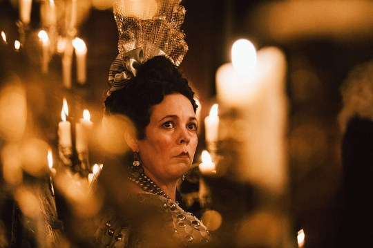 Queen Anne profile (The Favourite) Olivia Colman Provider: Fox Searchlight Source: https://www.imdb.com/title/tt5083738/characters/nm1469236?ref_=tt_cl_t1