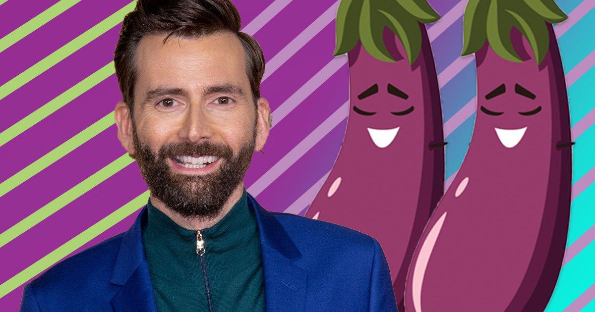 David Tennant is mortified as he discovers real meaning behind aubergine emoji