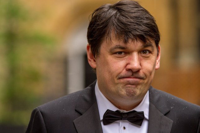 Mandatory Credit: Photo by REX/Shutterstock (3721806cb) Graham Linehan British Academy Television Craft Awards, London, Britain - 27 Apr 2014