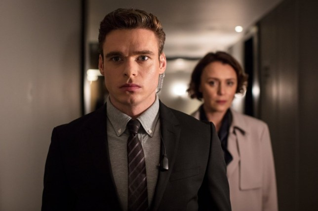 richard madden as david budd in bodyguard