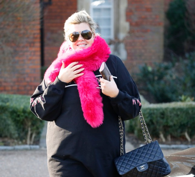 Gemma Collins Is All Smiles As She Is Seen Leaving Her Home Heading To The Dancing On Ice Studios Pictured: Gemma Collins Ref: SPL5056887 210119 NON-EXCLUSIVE Picture by: Ralph / SplashNews.com Splash News and Pictures Los Angeles: 310-821-2666 New York: 212-619-2666 London: 0207 644 7656 Milan: 02 4399 8577 photodesk@splashnews.com World Rights,