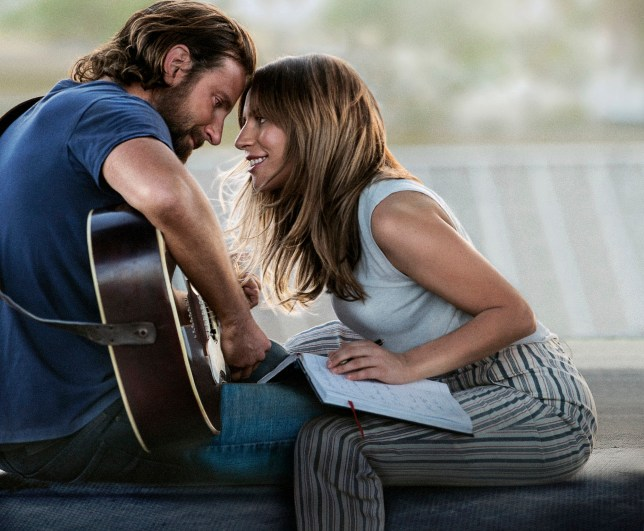 "FILE - This file image released by Warner Bros. Pictures shows Bradley Cooper, left, and Lady Gaga in a scene from ""A Star is Born."" The film may be the lead nomination-getter Tuesday, Jan. 22, 2019, when nominations to the 91st Oscars are unveiled. (Warner Bros. Pictures via AP, File)"