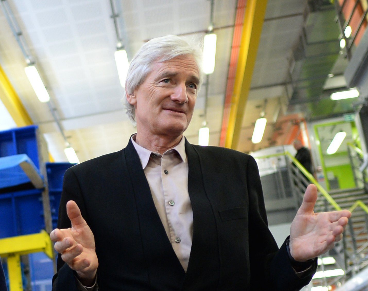 File photo dated 23/03/15 of Sir James Dyson, who is to relocate the Dyson head office from the UK to Singapore, meaning the company will be no longer be registered as British and will make Singapore its main tax base. PRESS ASSOCIATION Photo. Issue date: Tuesday January 22, 2019. See PA story CITY Dyson. Photo credit should read: Stefan Rousseau/PA Wire