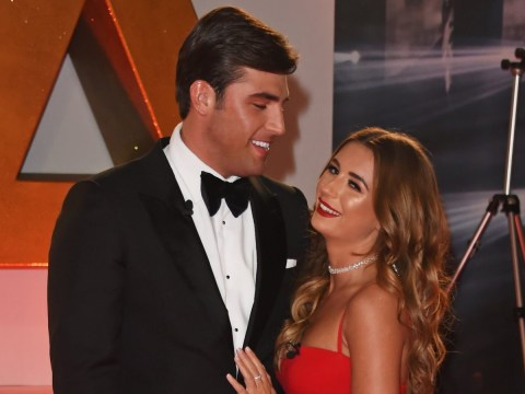 Dani Dyer and Jack Fincham 'almost missed hosting the National Television Awards in their quest for free booze'