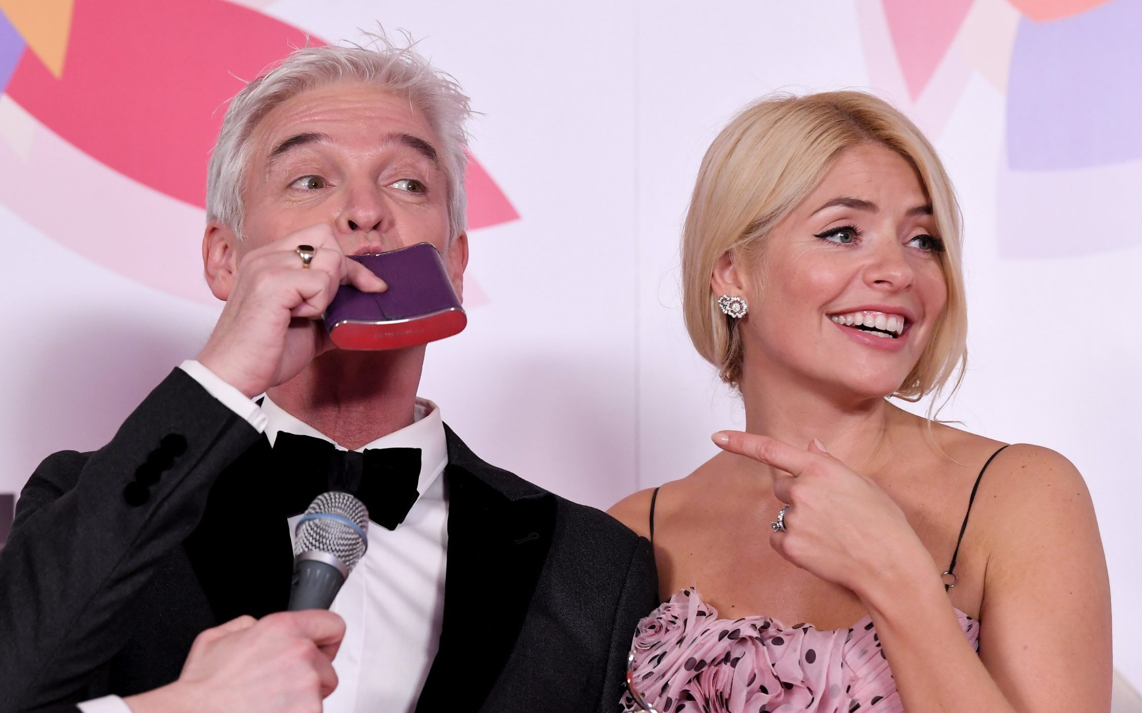Unearthed interview reveals Phillip Schofield partied with hookers as Holly Willoughby admits to on-air madness