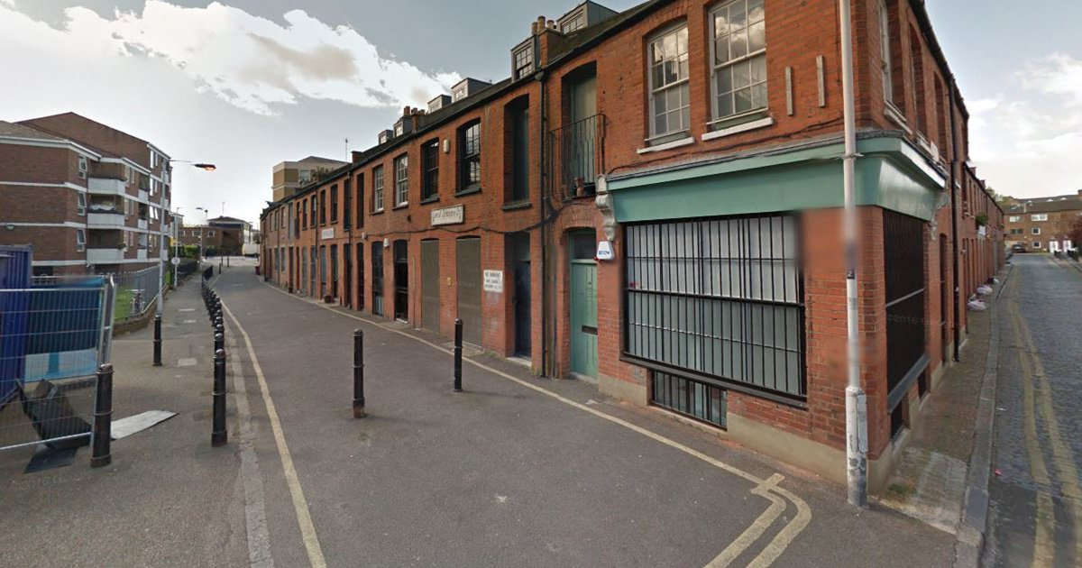 Police watchdog launches probe into death of pensioner who fell ill after he was handcuffed during 'malicious communications' arrest Gibraltar Walk, Bethnal Green Credit: Google Maps