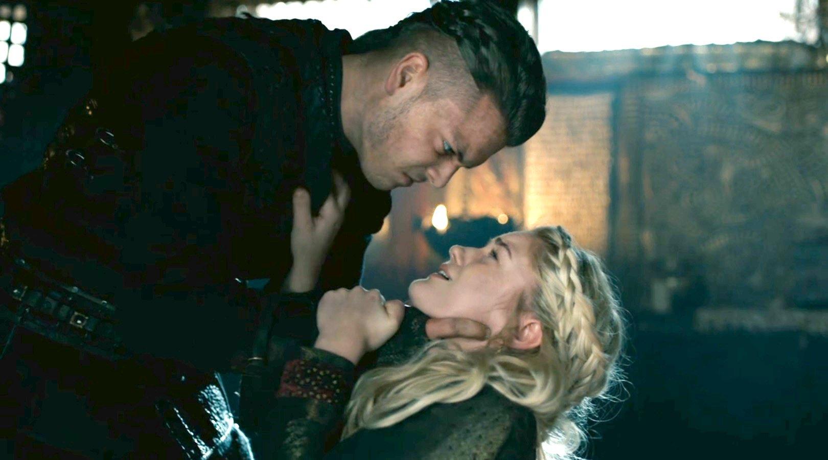 Vikings star Alicia Agneson really got strangled filming Freydis death scene