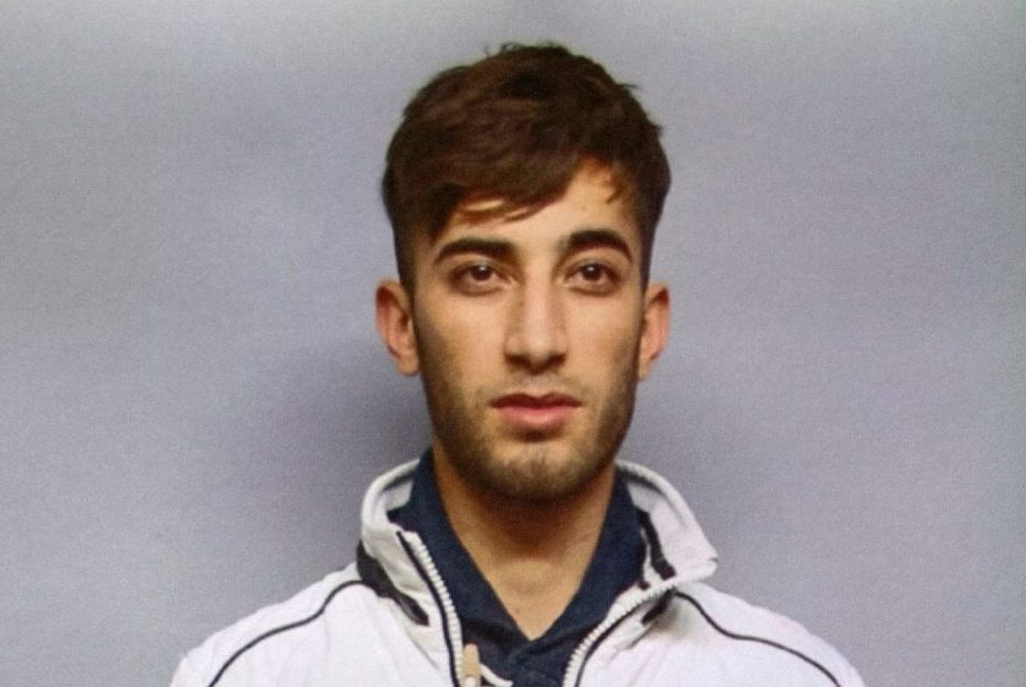 HANDOUT - 7 June 2018, Wiesbaden, Germany: A police mug shot made public at a press conference regarding the case of the murdered Susanna Maria F. shows Ali Bashar. The 20 year old Iraqi is considered a prime suspect. ATTENTION: Usage only allowed for the time span of the police manhunt. Photo: Polizei Wiesbaden/dpa - ACHTUNG: Verwendung nur bis zum Ende der ?ffentlichkeitsfahndung der Polizei