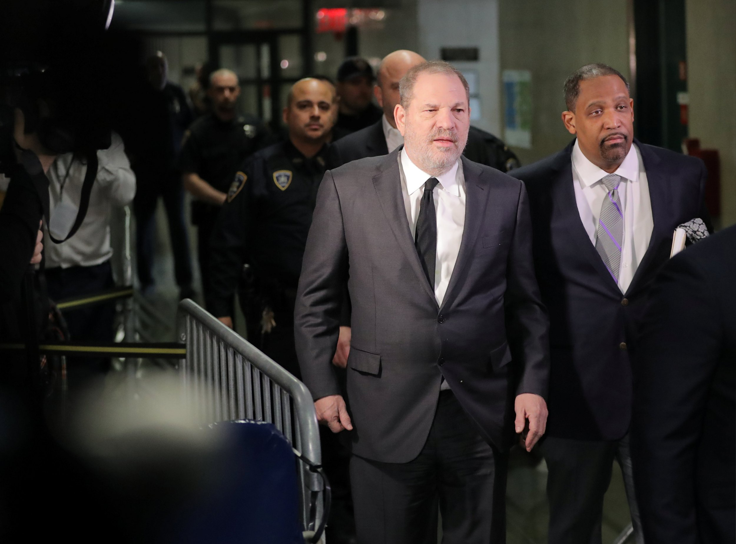 Film producer Harvey Weinstein, arrives for a hearing at New York Supreme Court in the Manhattan borough of New York City, U.S., January 25, 2019. REUTERS/Brendan McDermid