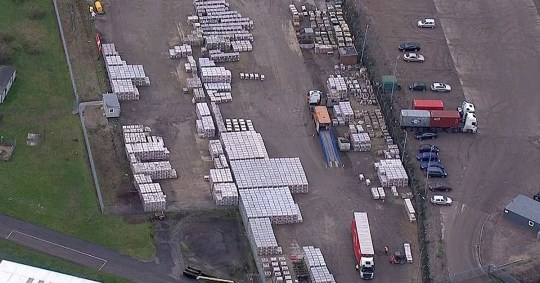 Military chiefs spend ?23,000,000 stockpiling for no deal Picture: Sky News METROGRAB