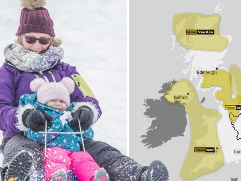 Arctic blast set to batter Britain bringing heavy winds and snow