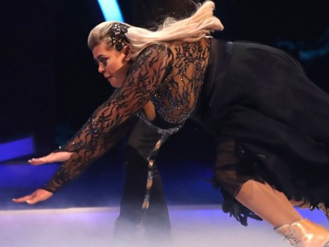 Gemma Collins 'fought chest pains and low blood pressure' before 'passing out' on Dancing On Ice