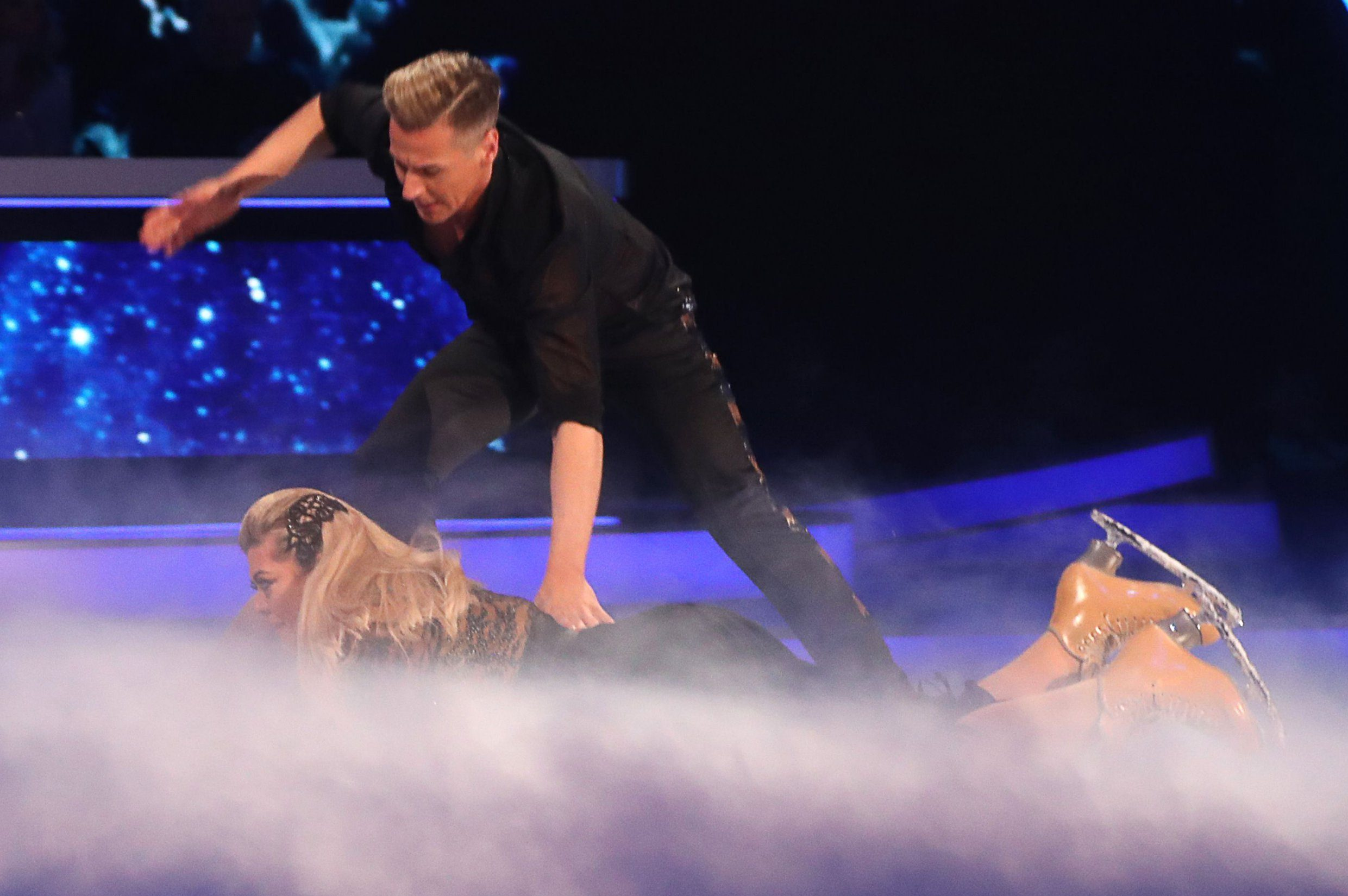 Gemma Collins 'curses' Dancing On Ice celebs in wake of horror fall: 'It was a sign of things to come'