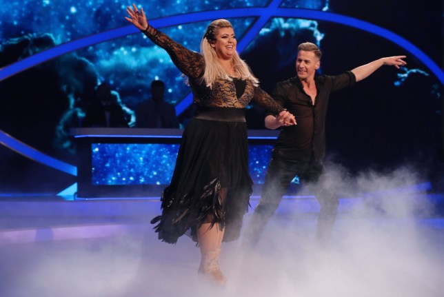 Editorial use only Mandatory Credit: Photo by Matt Frost/ITV/REX (10073862ck) Gemma Collins and Matt Evers 'Dancing on Ice' TV show, Series 11, Episode 4, Hertfordshire, UK - 27 Jan 2019