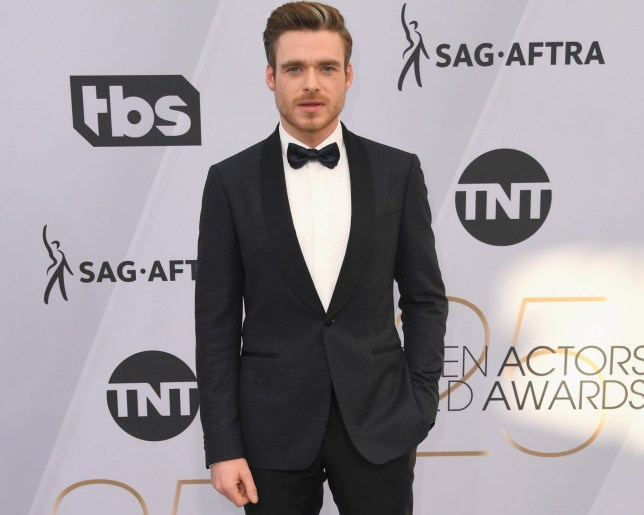LOS ANGELES, CA - JANUARY 27: Richard Madden attends the 25th Annual Screen Actors??Guild Awards at The Shrine Auditorium on January 27, 2019 in Los Angeles, California. (Photo by Frazer Harrison/Getty Images)