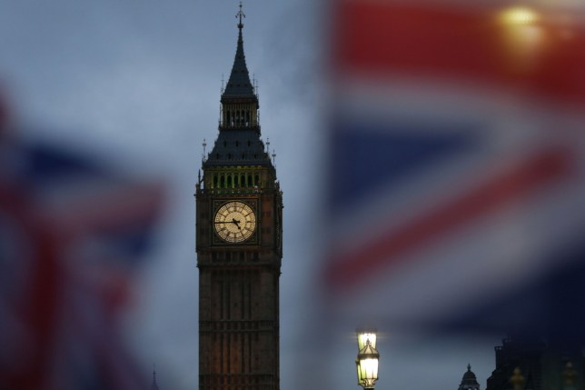 (FILES) In this file photo taken on February 01, 2017 Union flags fly near the The Elizabeth Tower, commonly known Big Ben, and the Houses of Parliament in London. - After British MPs rejected Prime Minister Theresa May's Brexit deal, they will on Tuesday vote on what they want her to do next. Unless it seeks a delay, Britain is scheduled to leave the European Union on March 29, deal or no deal. (Photo by Daniel LEAL-OLIVAS / AFP)DANIEL LEAL-OLIVAS/AFP/Getty Images