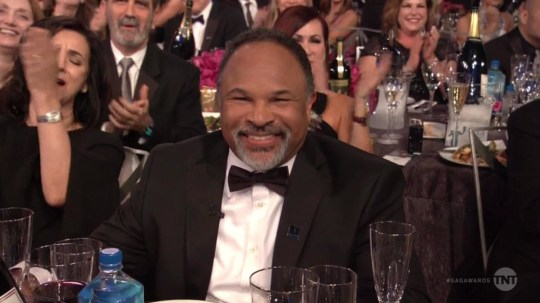 "BGUK_1469598 - ** RIGHTS: WORLDWIDE EXCEPT IN UNITED STATES ** Los Angeles, CA - Geoffrey Owens appears on SAG Awards after Trader Joe's job shaming. The great luck keeps coming for Geoffrey Owens, the actor who was shamed for taking a job at Trader Joe???s because the gigs dried up in Hollywood. In the opening sequence of the Screen Actors Guild Awards, the former costar of The Cosby Show was featured front and center as a guild member, and more importantly, an 'actor'. ""So, somewhere in the middle of the road of my life, I found myself in the dark wood of unemployment and debt,"" he said directly to the camera. ""But instead of switching careers like a sane person, I took a job at a local Trader Joe???s to see if I could hang in there with my career. And, um, its actually worked out pretty well. I???m Geoffrey Owens and I am an actor."" In September 2018, several news outlets published photos of Owens bagging groceries at Trader Joe???s, which prompted scores of fans and celebrities to come to the actor???s defense. Owens worked at Trader Joe???s for 15 months but said he had to quit over the recent attention. He accepted an offer by Tyler Perry to appear on the OWN series The Haves and the Have Nots to costar in ten episodes in the show???s sixth season. He also booked a gig on NCIS: New Orleans. Owens played Elvin Tibideaux on The Cosby Show, from 1985 to 1992. *BACKGRID DOES NOT CLAIM ANY COPYRIGHT OR LICENSE IN THE ATTACHED MATERIAL. ANY DOWNLOADING FEES CHARGED BY BACKGRID ARE FOR BACKGRID'S SERVICES ONLY, AND DO NOT, NOR ARE THEY INTENDED TO, CONVEY TO THE USER ANY COPYRIGHT OR LICENSE IN THE MATERIAL. BY PUBLISHING THIS MATERIAL , THE USER EXPRESSLY AGREES TO INDEMNIFY AND TO HOLD BACKGRID HARMLESS FROM ANY CLAIMS, DEMANDS, OR CAUSES OF ACTION ARISING OUT OF OR CONNECTED IN ANY WAY WITH USER'S PUBLICATION OF THE MATERIAL* Pictured: Geoffrey Owens BACKGRID UK 27 JANUARY 2019 BYLINE MUST READ: TNT / BACKGRID UK: +44 208 344 2007 / uksales@backgrid.com USA: +1 310 798 9111 / usasales@backgrid.com *UK Clients - Pictures Containing Children Please Pixelate Face Prior To Publication*"