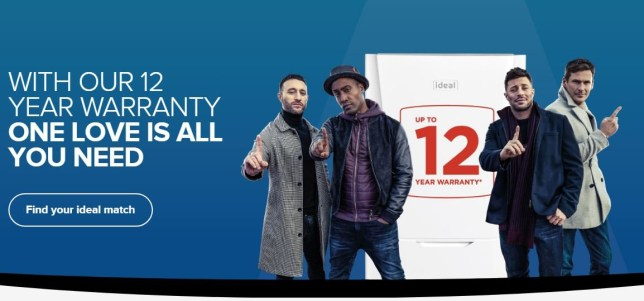 Blue are promoting Boilers Credit: IdealBoilers