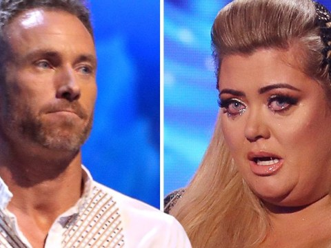 Dancing On Ice's Gemma Collins and James Jordan get in 'big old bust up' as blade wars continues